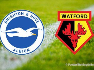 Brighton & Hove Albion vs Watford Prediction