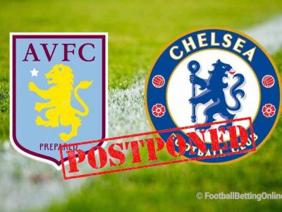 Aston Villa vs Chelsea Postponed