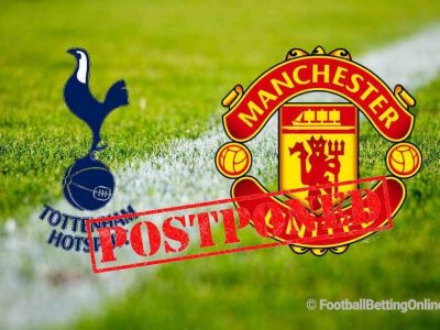 Tottenham Hotspur vs Manchester United Postponed