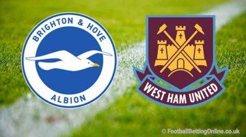Brighton & Hove Albion vs West Ham United Prediction